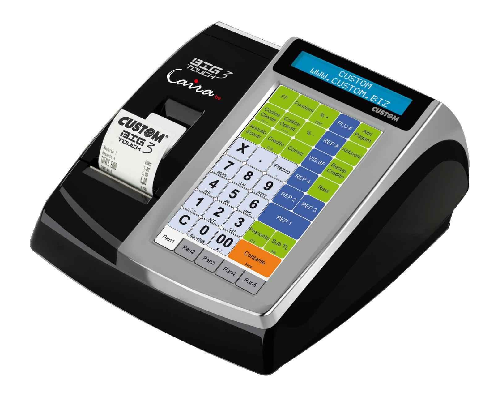 Caisses enregistreuses agr es par le spf finances black - Caisse enregistreuse pas chere ...